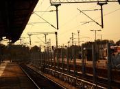 English: The Platform No. 10 at Secunderabad Railway Station
