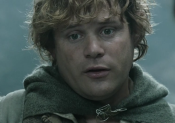 Sean Astin as Sam in Peter Jackson's live-action version of The Lord of the Rings.