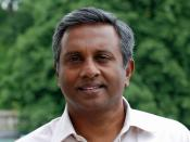 English: Salil Shetty, Secretary General of the Human Rights Organization Amnesty International
