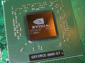 English: 6600GT GPU