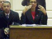mayor sheila dixon at delegation meeting