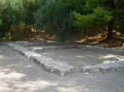 English: Plato's Academy Archaeological Site in Akadimia Platonos subdivision of Athens, Greece.