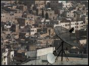 Hebron Urban Details: Of Roofs and Dishes...