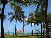 English: Pajuçara beach in Maceió, Alagoas Português: Calçadão na praia de Pajuçara, Maceió, Alagoas