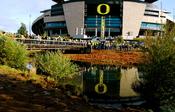 Autzen Stadium in Eugene, Oregon