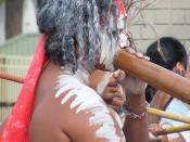 INDIGENOUS AUSTRALIAN ABORIGINAL DANCERS