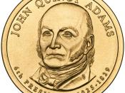 English: Presidential $1 Coin Program coin for John Quincy Adams. Obverse.