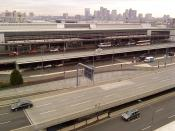 English: Terminal A, at Boston's Logan International Airport.