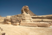 English: Great Sphinx of Giza, Egypt. Español: Gran Esfinge de Giza, Egipto.
