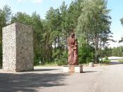 Sobibór - Mémorial sur le site du camp.