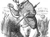 Français : Illustration d'origine (1865), par John Tenniel (28 février 1820 – 25 février 1914), du roman de Lewis Carroll, Alice au pays des merveilles.