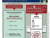 ALP How-To-Vote 2010 Federal Election