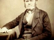 Photograph of Charles Darwin by Maull and Polyblank for the Literary and Scientific Portrait Club (1855)