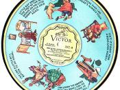RCA Victor record from 1932 decorated with Stephen Slesinger, Inc.'s Winnie-the-Pooh