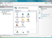 IIS 7's redesigned management console
