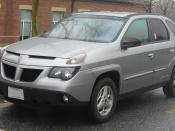 2002-2005 Pontiac Aztek photographed in College Park, Maryland, USA. Category:Pontiac Aztek