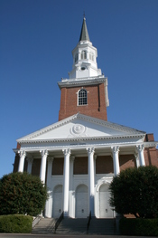 English: Binkley Chapel at the Southeastern Baptist Theological Seminary in Wake Forest, North Carolina.