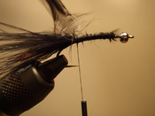 Fly Tying Process Step 3 - Securing The Hackle
