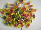 An assortment of Jolly Rancher candies