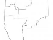 English: Map of Abitibi-Témiscamingue Français : Carte de l'Abitibi-Témiscamingue
