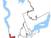 English: Map of Abitibi—Témiscamingue, Quebec Français : Carte de la circonscription d'Abitibi—Témiscamingue au Québec