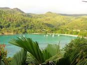 Port Launay Marine Park, Mahe Island, Seychelles
