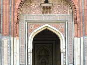 Quila Kuhna Masjid, Delhi