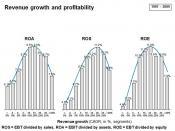 English: Revenue growth and profitability
