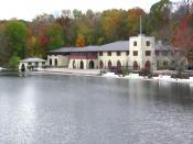 English: Shea Rowing Center, Princeton University, Princeton, New Jersey, USA
