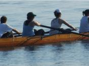Toronto rowing team