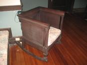 Bernheimer House, Port Gibson, Mississippi. Old rocking chair.