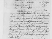 English: Thomas Boylston to Thomas Jefferson, May 1786, Maritime Insurance Premiums