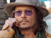English: Johnny Depp at a ceremony for Penélope Cruz to receive a star on the Hollywood Walk of Fame.