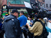 English: The Arri Alexa being used on a shoot of Law and Order: SVU