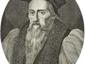 English: John Aylmer (1521-1594)
