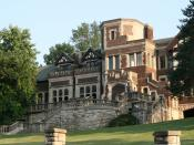 Epperson House, on the campus of the University of Missouri-Kansas City