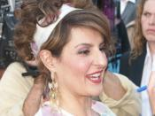 English: Actress Nia Vardalos at the Connie and Carla premiere on the Universal City Walk in Los Angeles, CA (2004-04-13)