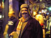 Halloween costumer, New Orleans.