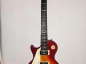 English: Epiphone Les Paul 100 electric guitar. Polski: Gitara elektryczna Epiphone Les Paul 100