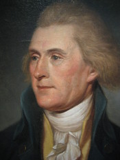 English: A Portrait of Thomas Jefferson as Secretary of State.