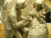 Courtship In Sleepy Hollow, or Ichabod Crane and Katrina Van Tassel, 1868