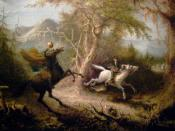 The Headless Horseman Pursuing Ichabod Crane. oil, 26 7/8 x 33 7/8 in., Smithsonian American Art Museum.