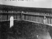 Sitting Bull's grave] / F.B. Fiske.