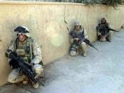 Iraq operation 3 soldiers