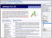 Amaya (web editor)