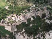 Aerial Photo: Sirok - Castle