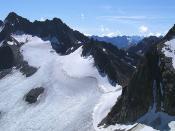 Az Alpok madártávlatból