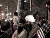 Celebraciones en Nueva York por la muerte de Osama bin Laden. 2 de mayo de 2011.