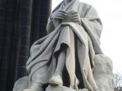 English: Sir Walter Scott statue by Sir John Steell on the Scott Monument, Edinburgh