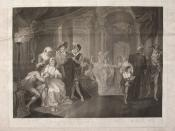 English: Romeo and Juliet act 1 scene 5, painted by William Miller, engraved by G. S. and J. G. Facius